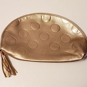Sephora Gold Makeup Bag